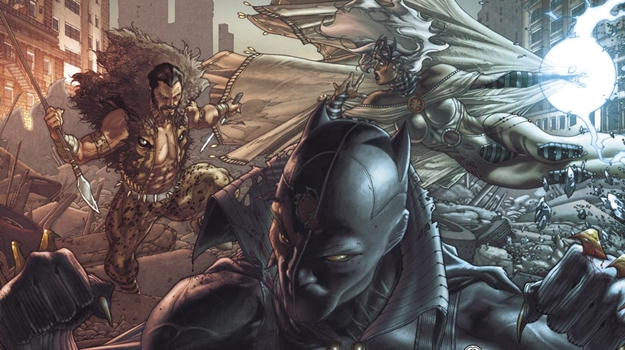 BLACK PANTHER Faces Kraven for the 1st Time in STORM HUNTER