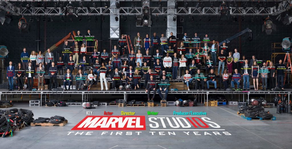 Marvel 10 Years j