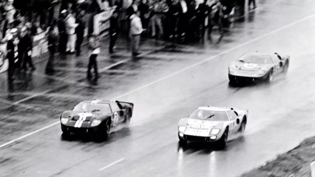 1966 Le Mans Finish