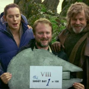 Rian Johnson Star WArs Set
