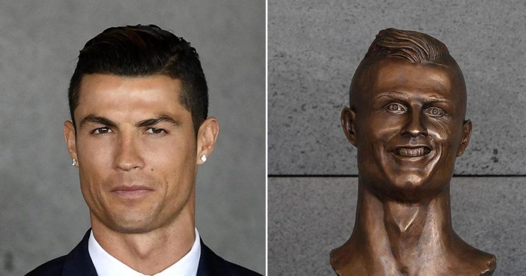 Ronaldo ugly Bust