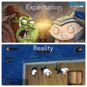 Family Guy Wow Expectation REality