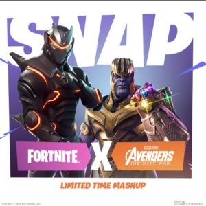 Infinity War Fortnite
