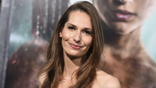 """Mandatory Credit: Photo by Jordan Strauss/Invision/AP/REX/Shutterstock (9457293n) Geneva Robertson-Dworet arrives at the U.S. premiere of """"Tomb Raider"""" at the TCL Chinese Theatre, in Los Angeles US Premiere of """"Tomb Raider"""", Los Angeles, USA - 12 Mar 2018"""