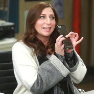 "BROOKLYN NINE-NINE: Chelsea Peretti in the first half of the special one-hour season finale ""The Bank Job/Crime & Punishment"" episode of BROOKLYN NINE-NINE Tuesday, May 23 (8:00-9:00 PM ET/PT) on FOX. Cr: Jordin Althaus/FOX"