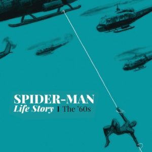 spider-man life story cover