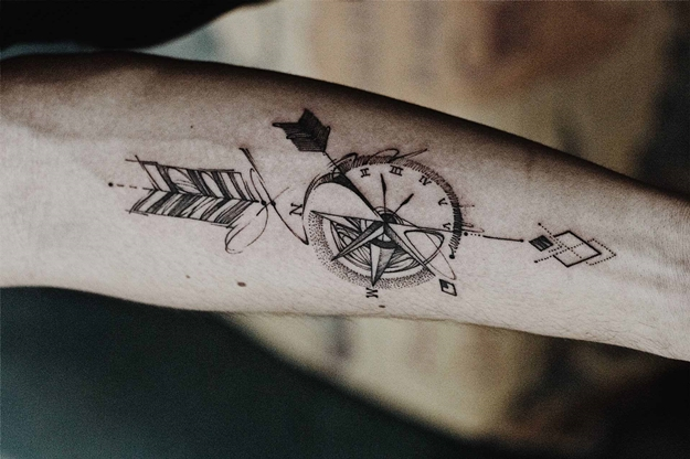 best-compass-tattoos