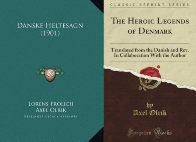 axel olrik- books