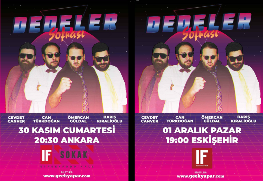 dedeler sofrası - istanbul - ankara