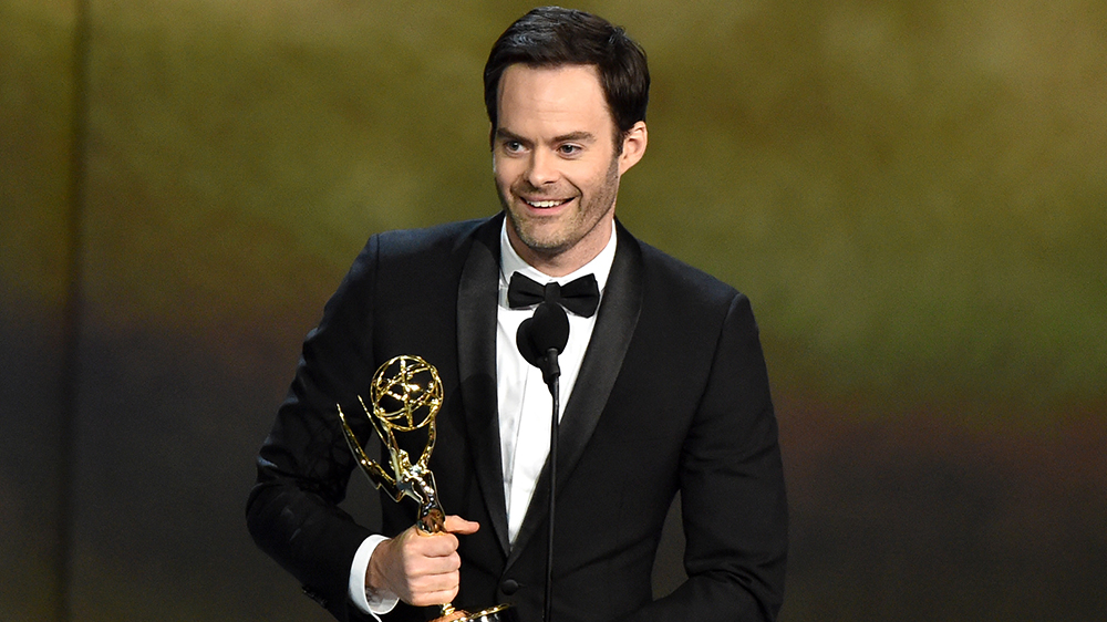Mandatory Credit: Photo by Michael Buckner/Variety/REX/Shutterstock (9885449x) Bill Hader - Outstanding Lead Actor in a Comedy Series - 'Barry' 70th Primetime Emmy Awards, Show, Los Angeles, USA - 17 Sep 2018