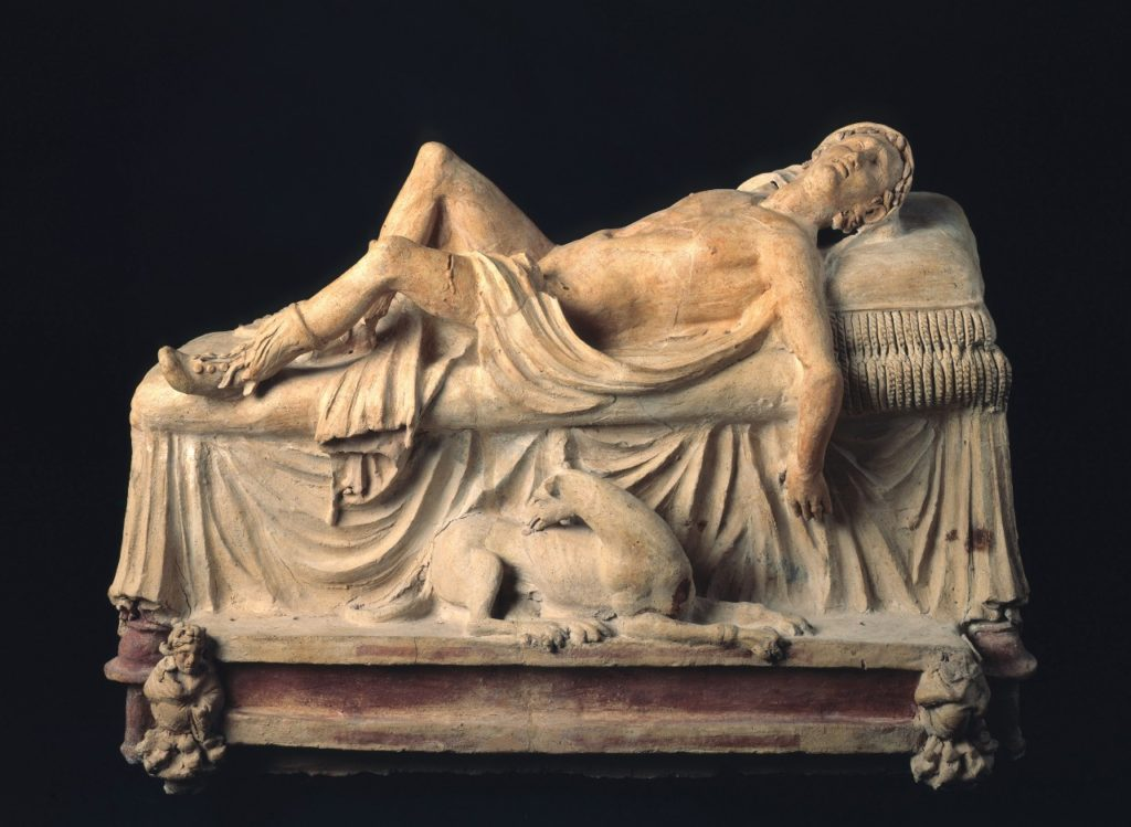 funerary-monument- dying- adonis