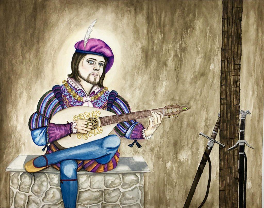 jaskier - troubador