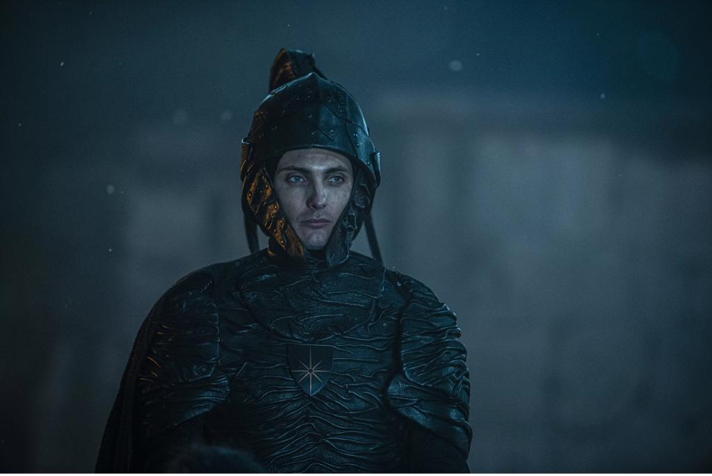 cahir - witcher netflix - helmet