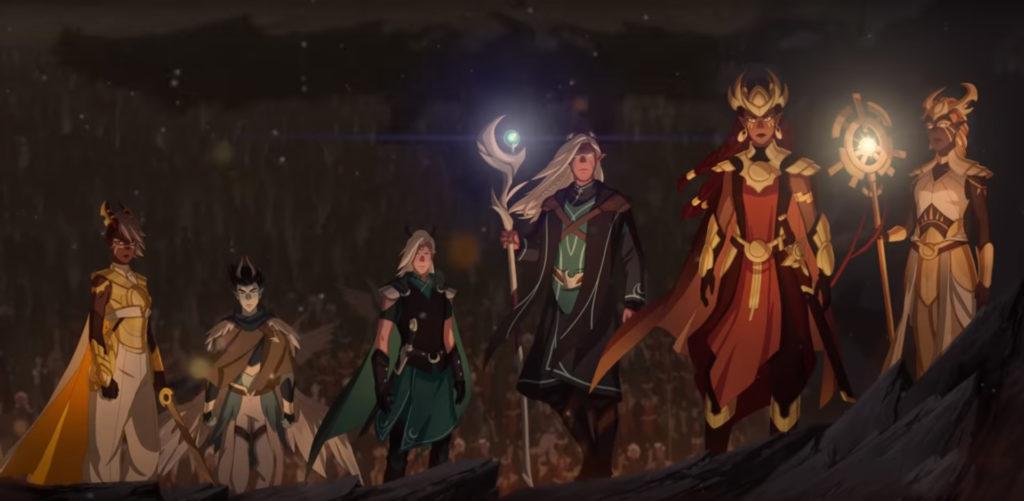 dragon prince - elves