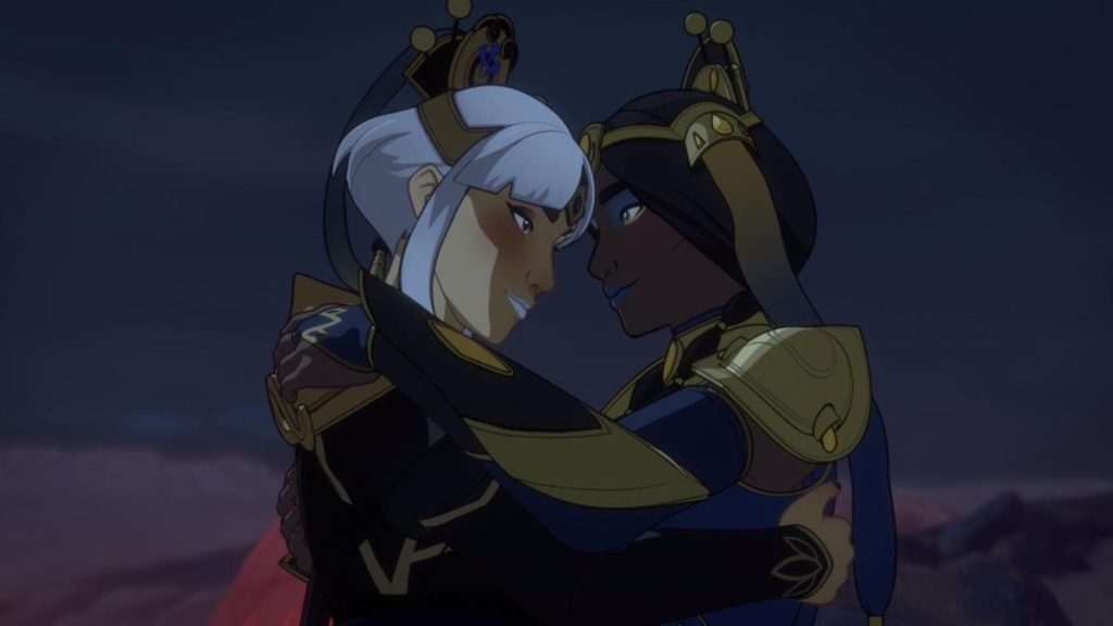 dragon prince - heroines
