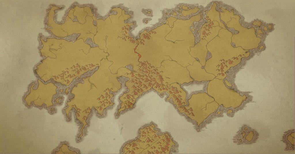 dragon prince - the world