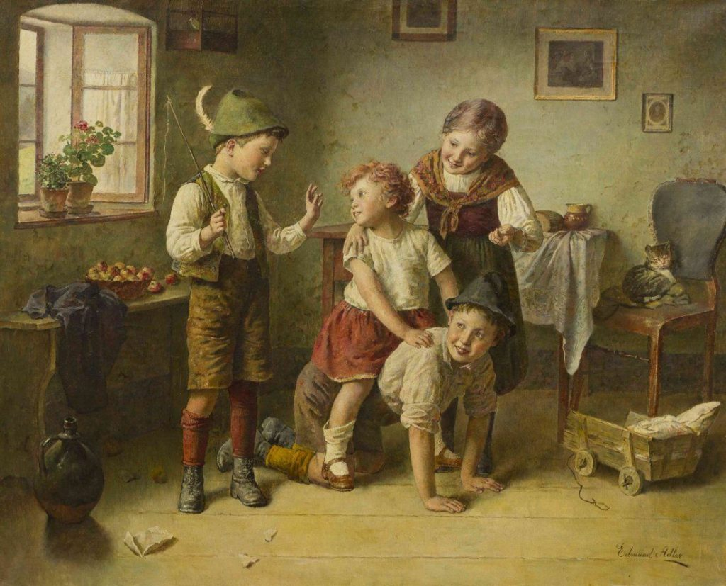 edmund adler - children at play
