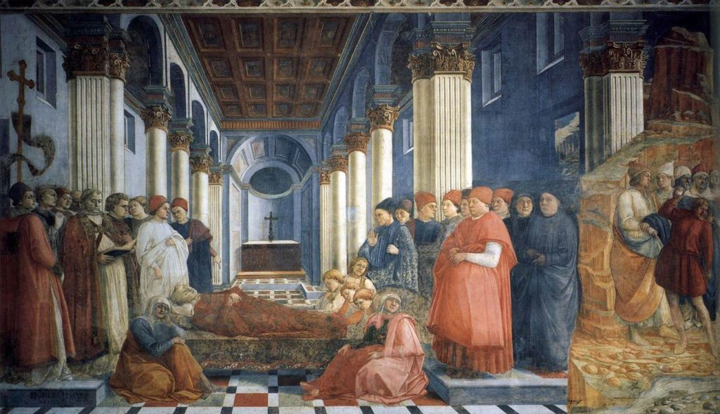 funeral of st. stephan