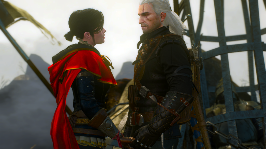 geralt - syanna - witcher 3