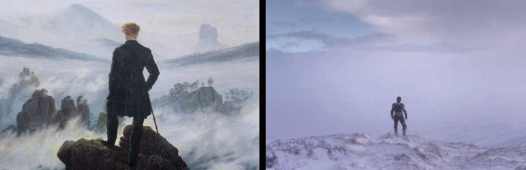 mimesis - parallel movie scene