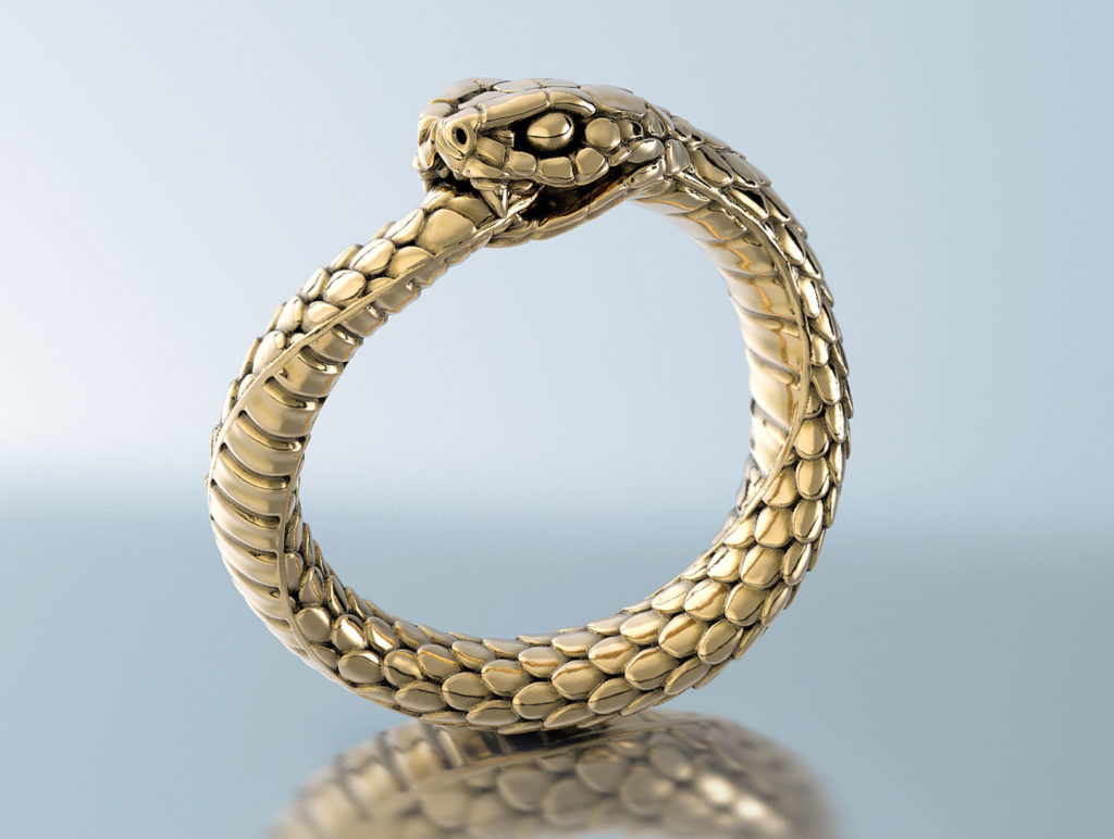 snake-ring-ouroboros-3d-model-obj-mtl-stl-3dm