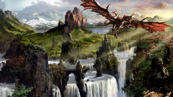 dragon - fly