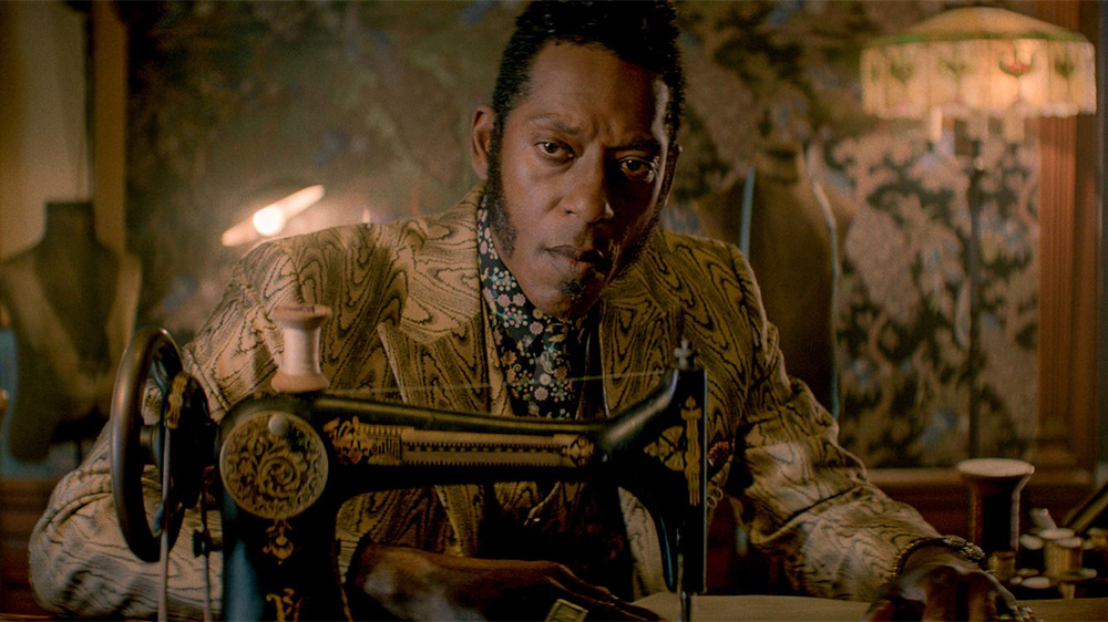 "Editorial use only. No book cover usage. Mandatory Credit: Photo by Amazon Prime/Kobal/Shutterstock (8966224ah) Orlando Jones ""American Gods"" (Season 1) TV Series - 2017"