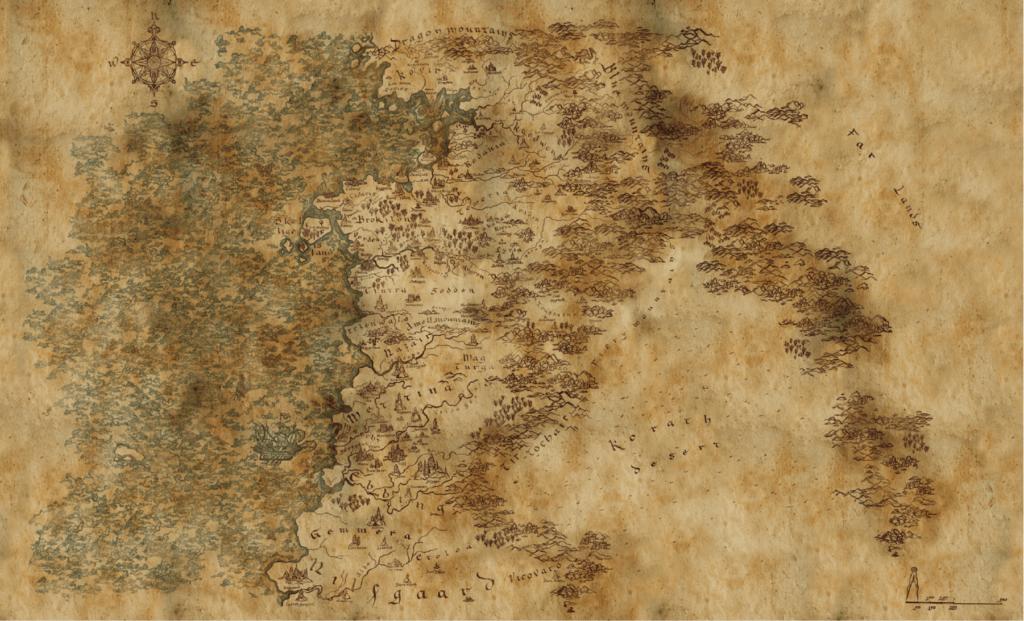 witcher map - netflix official